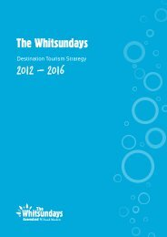 Download the Destination Tourism Strategy PDF here - Whitsundays