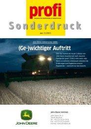 John Deere Mähdrescher S690i - Rebo Landmaschinen GmbH