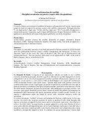 La Trasformazione FINALE /04 - Master di II livello in Esperti della ...