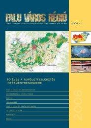 10 éves a területfejlesztés intézményrendszere - VÁTI