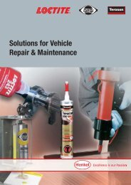 Solutions for Vehicle Repair & Maintenance - Henkel Content ...