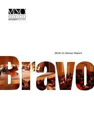 2010.11 Annual Report - Milwaukee Symphony Orchestra