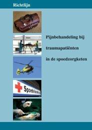 Pijnbehandeling bij traumapatiënten in de spoedzorgketen - Diliguide