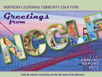 NCCLF's 2012 Annual Report - Northern California Community ...