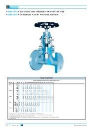Globe valves Shut-off check valve 200 AE/BE PN ... - webadmin1.net