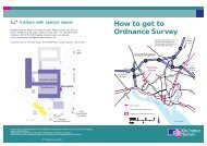 How to get to Ordnance Survey - UK and Ireland SAP User Group