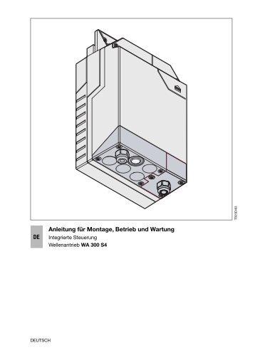 Industrie Wellenantrieb WA300S4 integr. Steuerung 335 - Hörmann