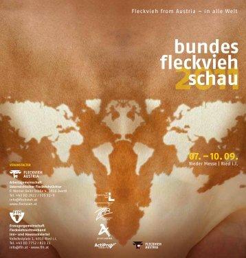 2011 bundes fleckvieh schau - Arbeitsgemeinschaft österreichischer ...