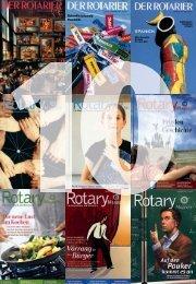 Verlagsgeschichte - Heftauszug aus Rotary Magazin 01/2009