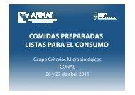 COMIDAS PREPARADAS LISTAS PARA EL CONSUMO - CONAL