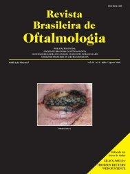 nº 4 - Julho / Agosto 2010 - Sociedade Brasileira de Oftalmologia