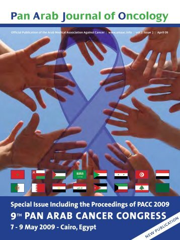 Pan Arab Journal of Oncology - Arab Medical Association Against ...