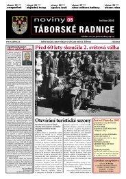 Noviny Táborské Radnice 2005