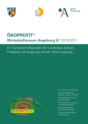 ÖKOPROFIT® - Stadt Augsburg