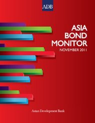 Asia Bond Monitor - November 2011 - AsianBondsOnline