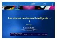 Les drones deviennent intelligents ... ? - LAAS CNRS