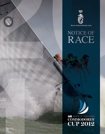 Download the Notice of Race as PDF 1.94 Mb - Brewin Dolphin ...