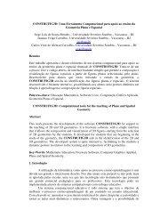 CONSTRUFIG3D: Uma Ferramenta Computacional ... - cinted/ufrgs