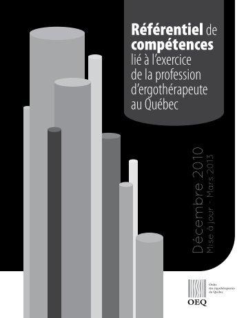 Version noir et blanc - Ordre des ergothérapeutes du Québec