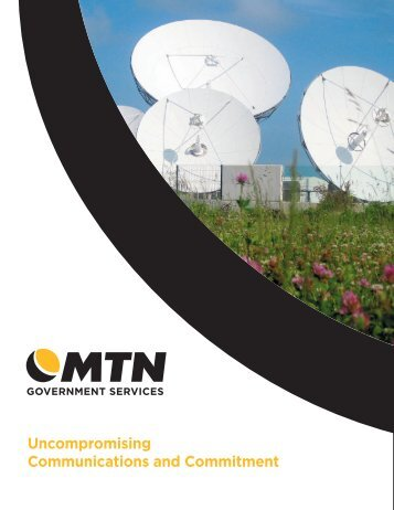 MTN Government Services Overview Brochure (Lettersize)
