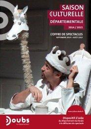+ Télécharger le catalogue en pdf - Conseil général du Doubs