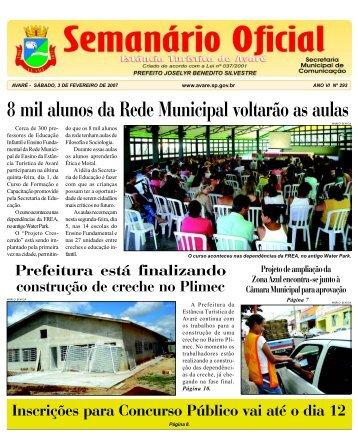 8 mil alunos da Rede Municipal voltarão as aulas - Câmara ...