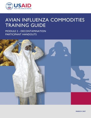 Participant Handouts - Avian and Pandemic Influenza Resource Link