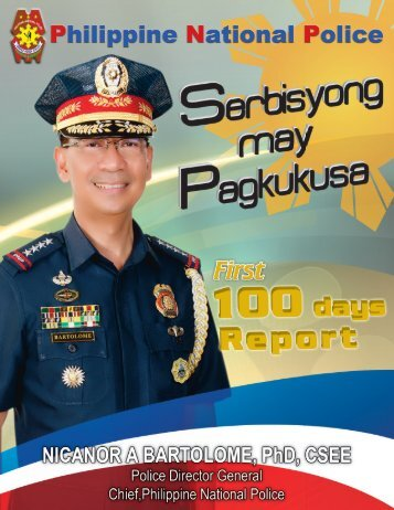 100 Days Report of PDG NICANOR A BARTOLOME - PNP ...