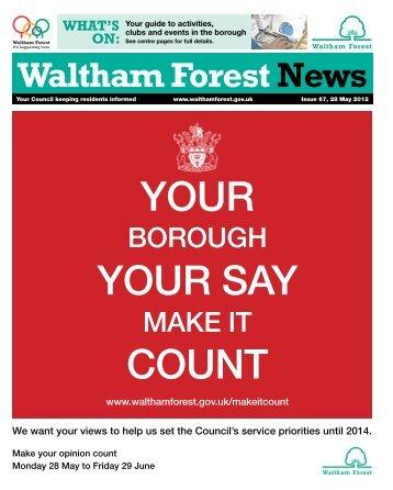 BOROUGH MAKE IT - Waltham Forest Council