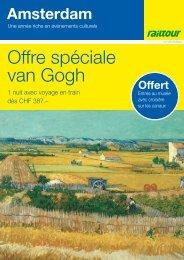 Offre spéciale van Gogh - CFF