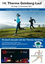Neu - Therme-Geinberg-Lauf