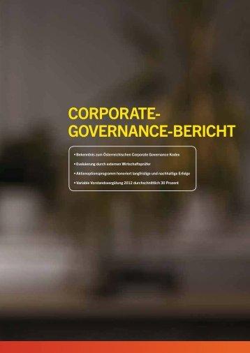 CORPORATE- GOVERNANCE-BERICHT - PALFINGER