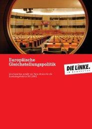 europäischen Gleichstellungspolitik - Agentur für Gleichstellung im ...