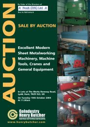 SALE BY AUCTION