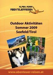 Outdoor Aktivitäten Sommer 2009 Seefeld/Tirol - Abenteuer Reise in ...