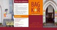 Infoflyer BAGKR - Bundesarbeitsgemeinschaft, Kirche und ...