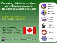 Power point presentation - History of Marine Animal Populations