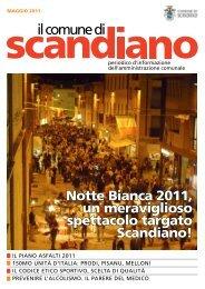 Maggio 2011 - Comune di Scandiano