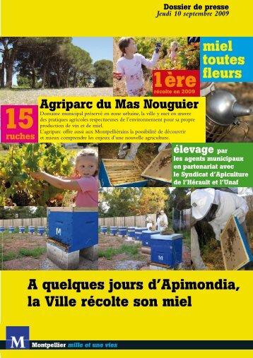 Agriparc du Mas Nouguier - Montpellier