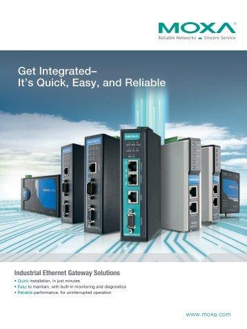 Industrial Ethernet Gateway Solutions - Omni Ray AG