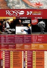 Programma Rosso Tango Art Festival - Assessorato Turismo ...