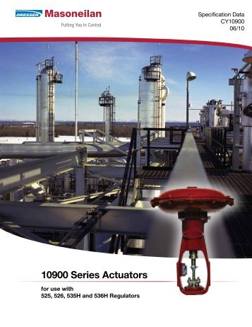 10900 Series Actuators