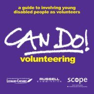 Can do volunteering - English Federation of Disability Sport