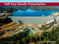 Half Year Report Presentation (PDF - 2.4 MB) - Leighton Holdings