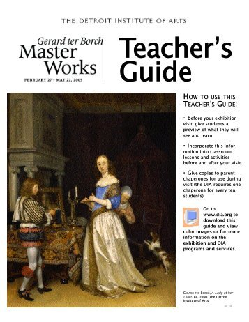 Teacher's Guide - Detroit Institute of Arts