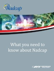What you need to know about Nadcap - Performance Review Institute
