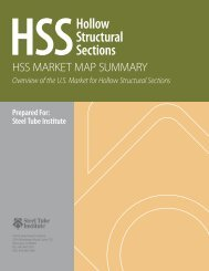 HSSHollow Structural Sections - Steel Tube Institute