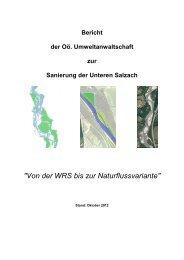 Unteren Salzach - Oö. Umweltanwaltschaft