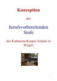 Berufsvorbereitende Stufe - Katharina-Kasper-Schule