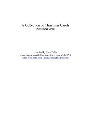 A Collection of Christmas Carols - Free Sheet Music Downloads